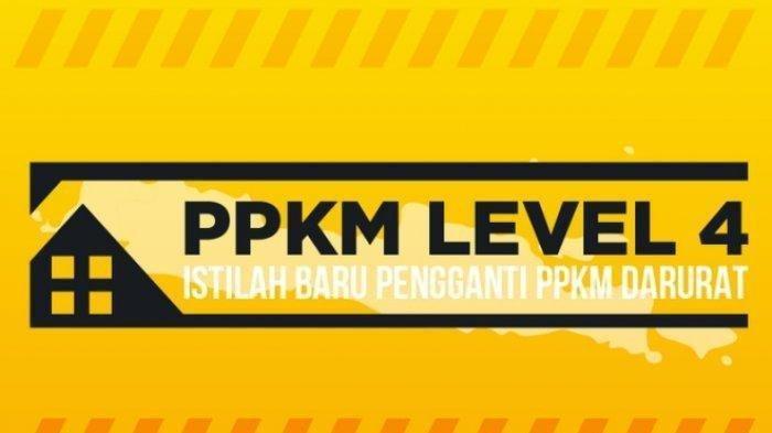 Daftar Lengkap Daerah di Indonesia Berdasarkan PPKM, Level 2, 3 dan 4