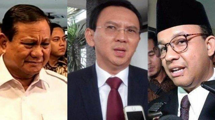 HASIL SURVEI Ahok Paling Berhasil Tangani Banjir Dibanding Anies, Prabowo Menteri Jokowi Terkenal