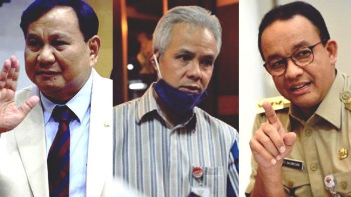 Hasil Survei: Elektabilitas Prabowo Tertinggi, Calon Kuat Pilpres 2024, Anies dan Sandiaga Melorot