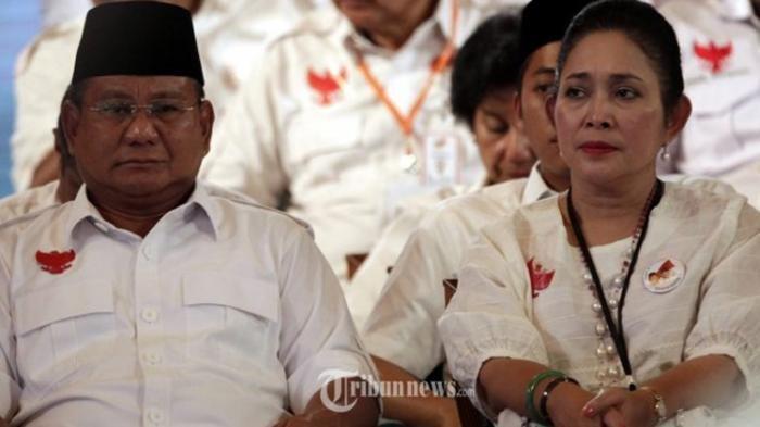 Sosok Titiek Soeharto, Mantan Istri Prabowo Subianto, Kisah Cintanya Terpisah karena Politik
