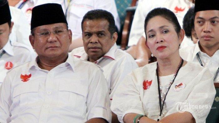 Lihat Ekspresi Titiek Soeharto saat Diminta Pendukung Rujuk dengan Prabowo