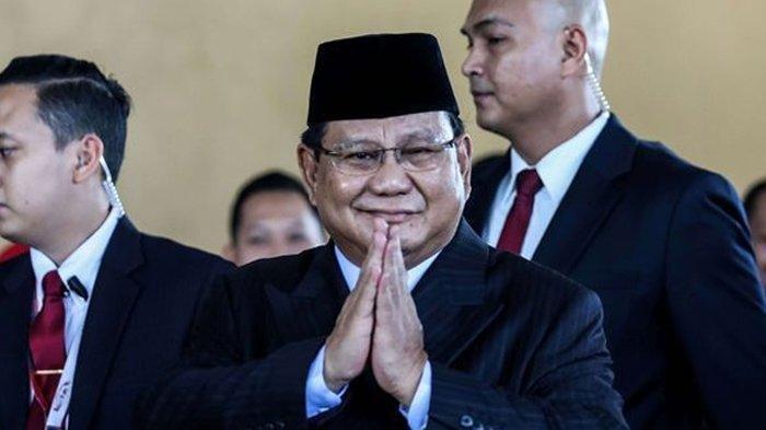 Hasil 2 Survei, Prabowo Unggul Capres 2024, Kalahkan Ganjar hingga Ahok, Menteri Paling Memuaskan