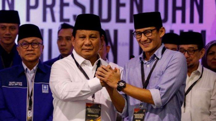 Prabowo-Sandi Kembali Persoalkan Kecurangan Pemilu 2019, TSM Pilpres ke MA, Pihak 01 Aktif Memantau