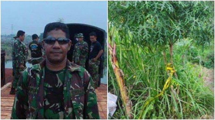 Jasad Anggota TNI yang Ditemukan di Semak-semak Ternyata Korban Pembunuhan, Polisi Tangkap 1 Orang