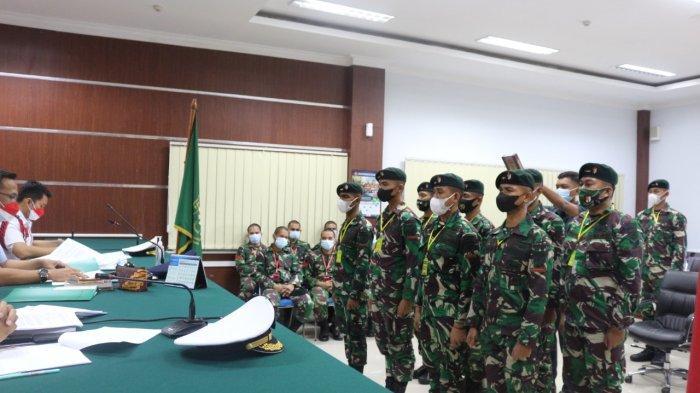 6 Anggota TNI AD Disidang di Pengadilan Militer Manado, Aniaya Praka Gerson Kumaralo Sampai Tewas