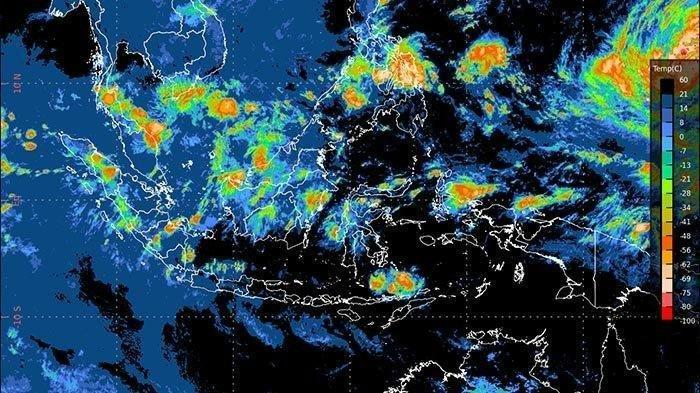 Prakiraan Cuaca <a href='https://manado.tribunnews.com/tag/bmkg' title='BMKG'>BMKG</a> Minggu 24 Januari 2021