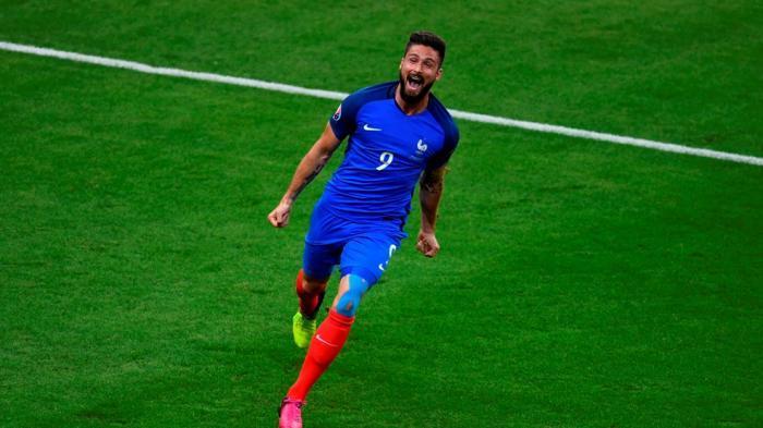 Penyerang Perancis Olivier Giroud Belum Cetak Gol, Pelatih Didier Deschamp Tetap Butuh
