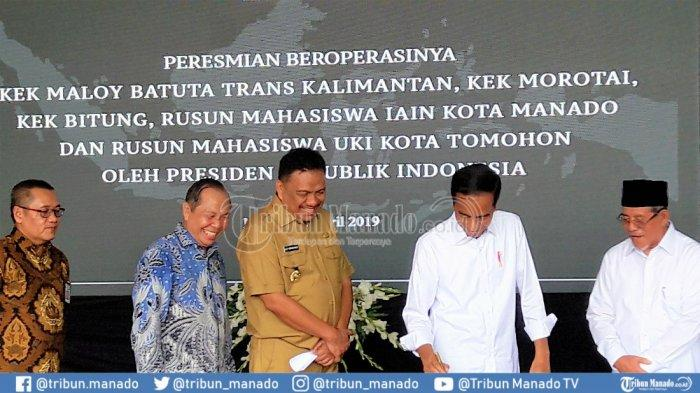 Diplomasi Ayam Bakar OD-Jokowi: Presiden Mendadak ke Sulut pada Kamis Besok
