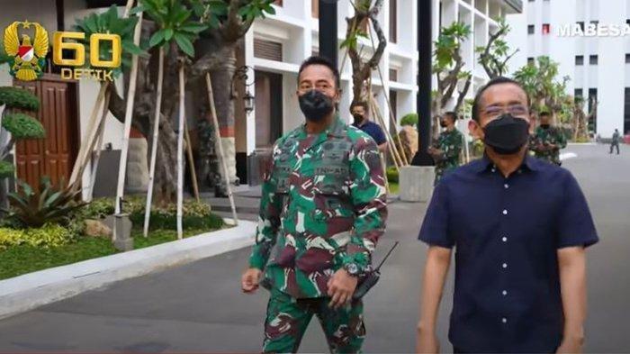 Sosok Pratikno Mensesneg, Kepegok Temui Jendral Andika Prakasa, Dicurigai Terkait Panglima TNI