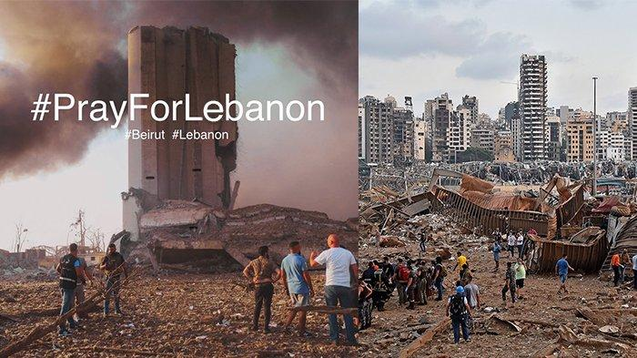 Terungkap Penyebab dari Ledakan Dasyat yang Porak-porandakan Beirut
