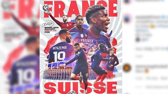 Prancis VS Swiss, Prediksi Susunan Pemain yang Akan Diturunkan