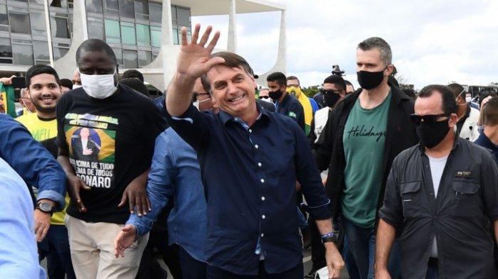 Presiden Brasil Jair Bolsonaro Positif Virus Corona, Mantan Menkes Brasil Ungkap Kecerobohan Jair