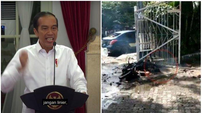 Respon Presiden soal Bom di Makassar: Usut Tuntas Jaringan Pelaku dan Bongkar Sampai ke Akar-akarnya