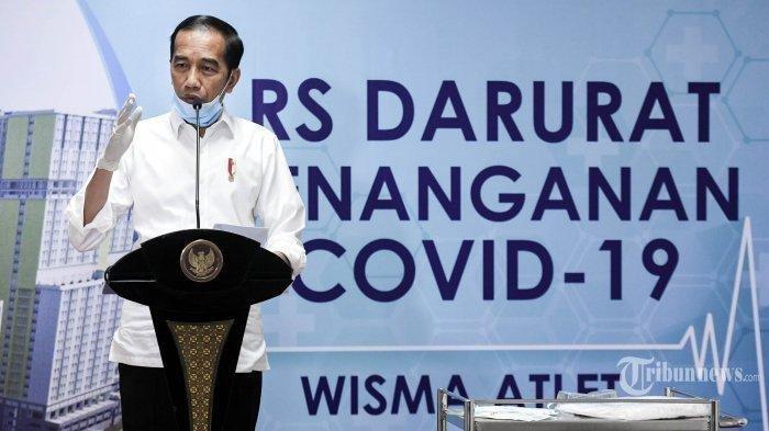 Presiden Jokowi Klaim Miliki 'Senjata' Kuat Hadapi Wabah Covid-19 di Indonesia, Kebijakan Diputuskan