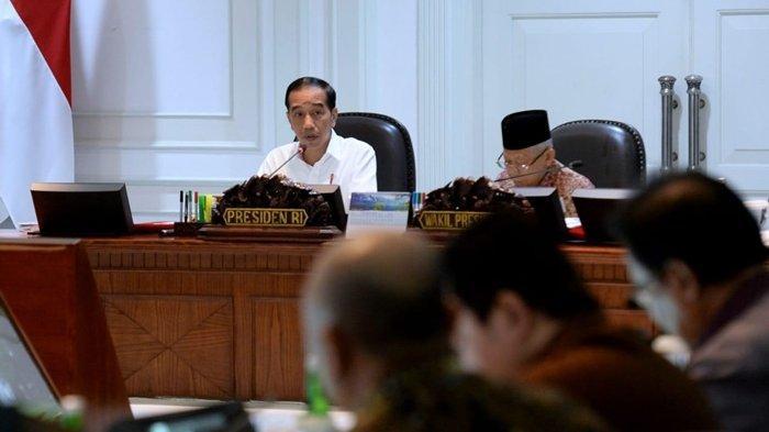Jokowi Kesal Lihat Kinerja Kabinet Menterinya, Kerja Tanpa Progres, Singgung Akan Ada Reshuffle