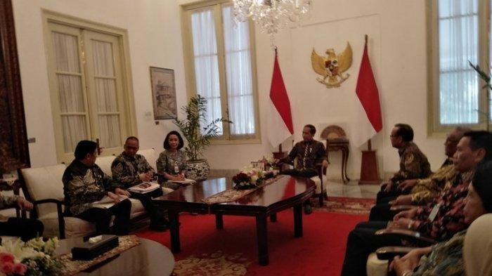 Presiden Jokowi Terima Pansel Capim KPK di Istana, 10 Nama Calon Pimpinan KPK Sudah Terseleksi