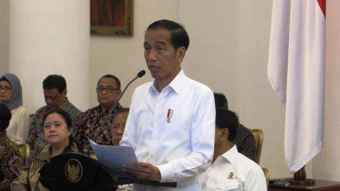 Presiden Joko Widodo Ucapkan Terima Kasih Kepada Menteri Saat Gelar Rapat Kabinet Paripurna Terakhir