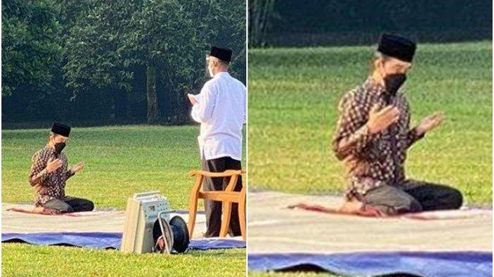 Sholat Idul Adha dan Diimami Paspampres, Presiden Jokowi Dibully Netizen, Disinggung Soal Muazin