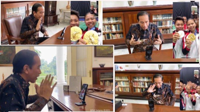 Presiden Jokowi Telepon Greysia Polii dan Apriyani Rahayu, Ini yang Disampaikannya