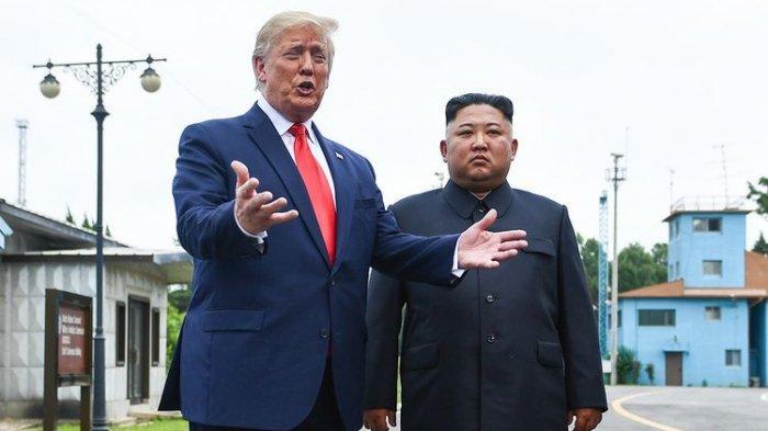 Presiden Korea Utara Disebut TertawakanTrump Ketika Komentari soal Relasi, Bahas Surat Kim Jong Un