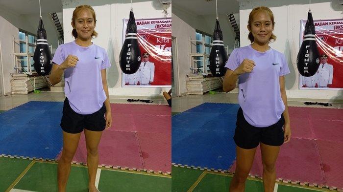Pretty Wuwungan, Atlet Muaythai Sulut yang akan Berlaga di Oktagon PON Papua