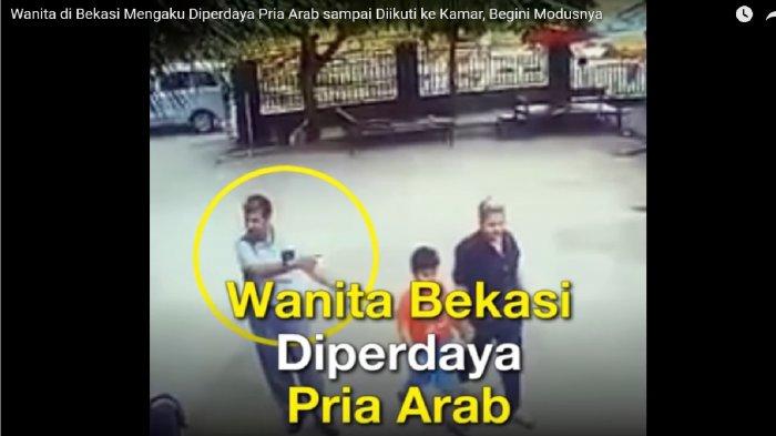 HEBOH! Wanita ini Diperdaya Pria Arab, Diikuti Hingga Ke Kamar