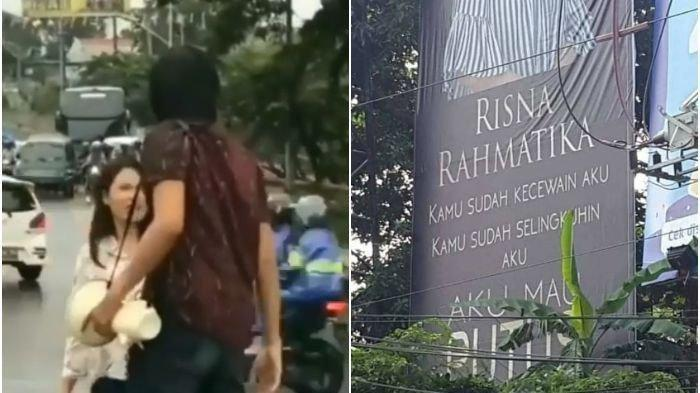 Astaga, Pria Ini Putuskan Pacarnya dan Pasang Wajah Kekasih di Baliho, Karena Ketahuan Selingkuh