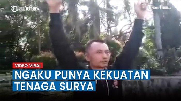 VIRAL, Pria Mengaku Punya Kekuatan Tenaga Surya, Berawal dari Ditilang Polisi Gegara Tak Pakai Helm