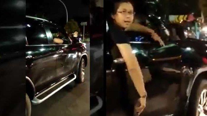 Tabrak Pengendara Motor Wanita, Sopir Fortuner Ini Malah Acungkan Pistol Teriak 'Gw Jalan Aja Ya'