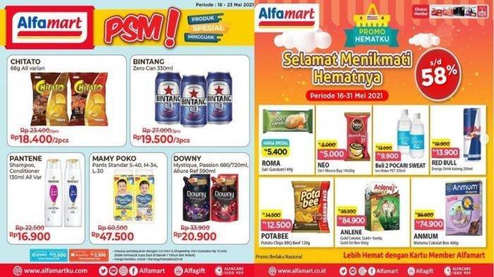 Promo Alfamart Selasa 18 Mei 2021: Beli Detergen Dapat Potongan Rp 10 Ribu, Ada Diskon 34 Persen