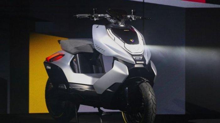 Produsen Motor Asal China Rilis Konsep MotorListrik Futuristik, Diberi Nama Zeeho EV