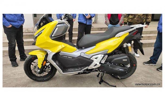 Produsen Motor Asal China Tiru Honda ADV 150, Produksi Warna Kuning Jadi Mirip Bumblebee