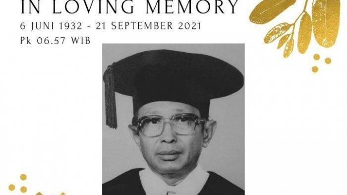 J.E Sahetapy Meninggal Dunia, Guru Besar Fakultas Hukum Unair, Ini Jejak Karier dan Pendidikannya