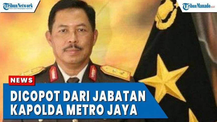 VIDEO Profil Irjen Pol Nana Sudjana yang Dicopot dari Kapolda Metro Jaya