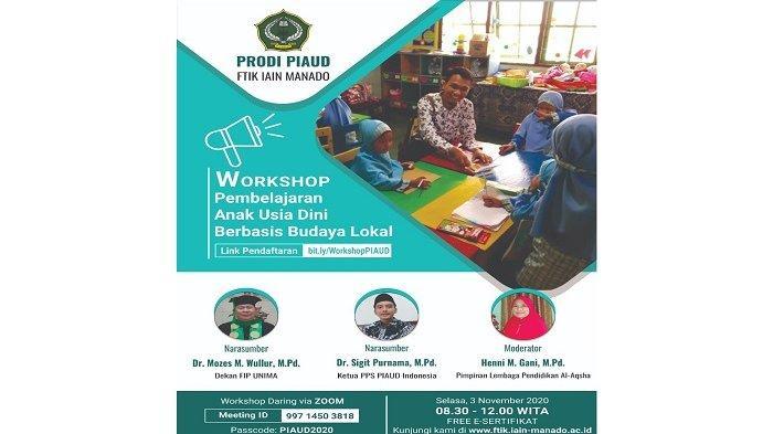 Program Studi PIAUD Gelar Workshop Pembelajaran Berbasis Budaya Lokal