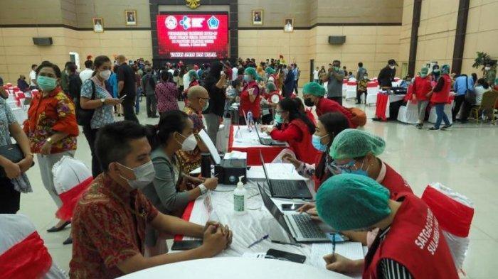 3.000 Pelaku Pariwisata Sulawesi Utara Jalani Vaksinasi Covid-19