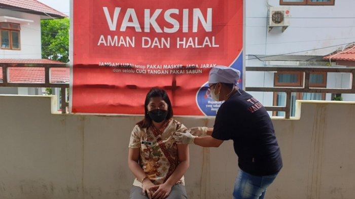 Bupati Sitaro Evangelian Sasingen: Ayo Dukung Program Vaksinasi