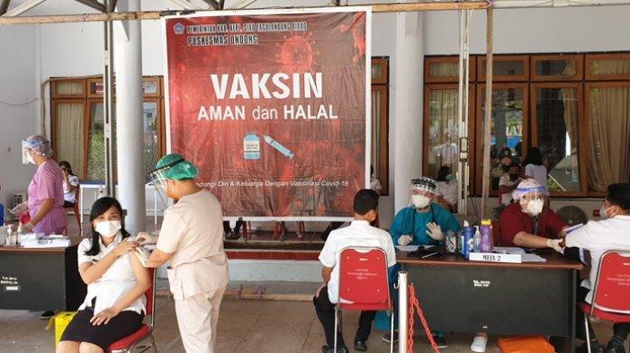 Program vaksinasi yang menyasar kalangan ASN Pemkab Sitaro.
