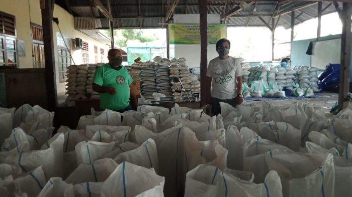 TAB Darurat Covid-19 dan Caritas PSE Keuskupan Manado Sudah Salurkan 648 Paket Bantuan