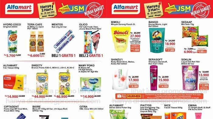 Promo Alfamart 18 Juni2021, Popok Bayi Potongan Harga, Serba Gratis, Beli 2 Gratis 1, Cek Katalog
