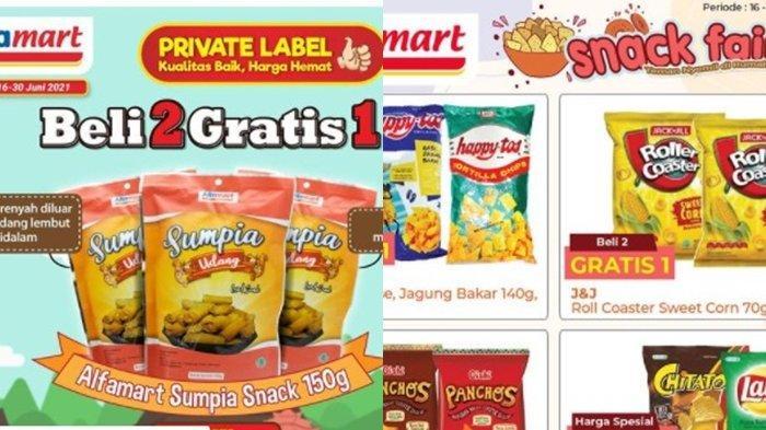 Promo Alfamart 21 Juni 2021, Beli 2 Camilan Gratis 1, Harga Murah Menu Sarapan, Cek Katalog