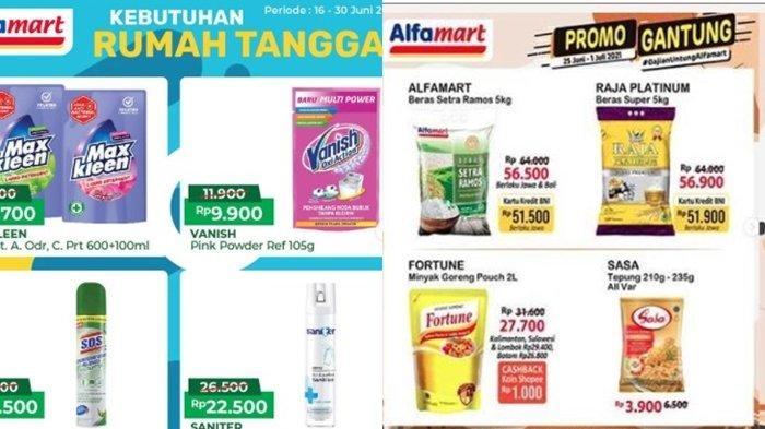 Promo Alfamart 30 Juni 2021, Diskon Minyak Goreng dan Detergen, Harga Susu Murah, Cek Katalog