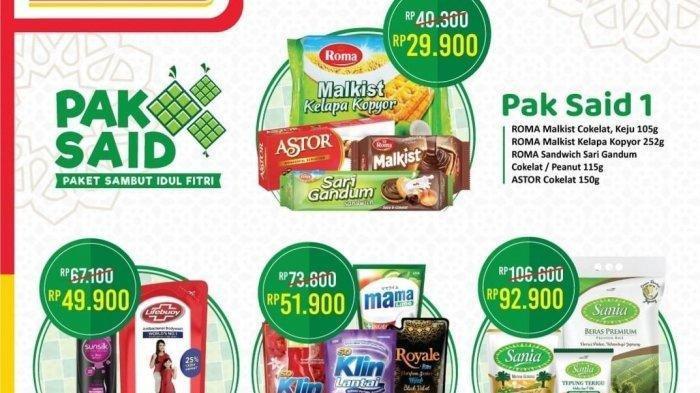 Promo Alfamart Besok Hari Jumat 14 Mei 2021, Ada Paket Sembako Rp 92.900, Cek Katalognya di Sini