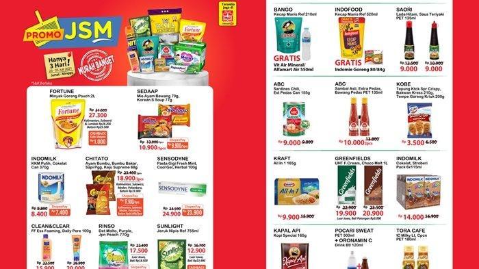 Promo Alfamart Hari Ini 25 Juli 2021, Harga Minyak Goreng dan Sabun Cuci Murah, Cek Katalog di Sini