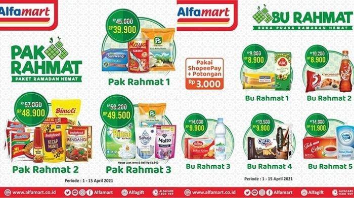 Promo Alfamart Hari Kamis 15 April 2021, Paket Buka Puasa Mulai Rp 8 Ribuan, Cek Katalognya di Sini