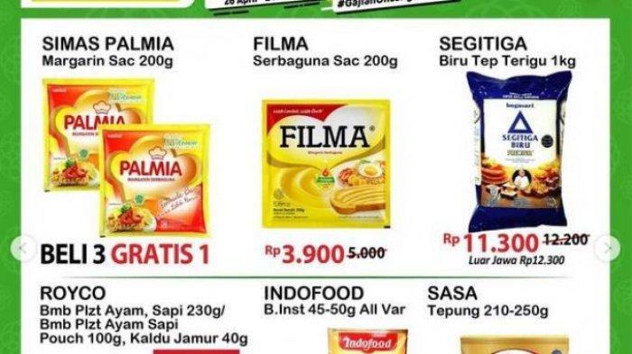 Promo Alfamart Hari Selasa 27 April 2021,Margarin Beli 3 Gratis 1, Selengkapnya Cek Katalog di Sini