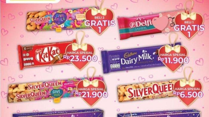 Promo Alfamart Spesial Valentine, Diskon Harga Cokelat dan Tebus Murah Minyak Goreng, Cek Katalog