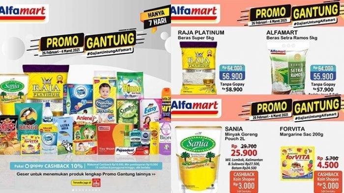 Promo Alfamart Sabtu 20 Maret 2021, Berlaku 3 Hari, Cek Harga dan Barangnya