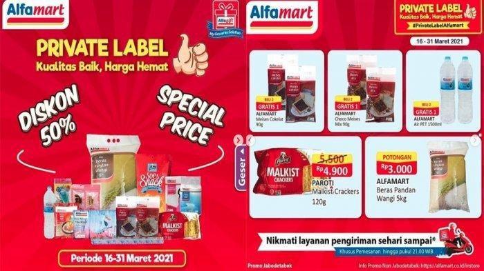 Promo Alfamart 24 Maret 2021, Festival Beras Murah, Serba Gratis Beli 2 Gratis 2, Cek Katalog