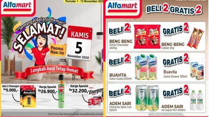 Promo Alfamart Terbaru 5 November 2020, Anti-Nyamuk Semprot Turun Harga, Selengkapnya Cek Katalog!